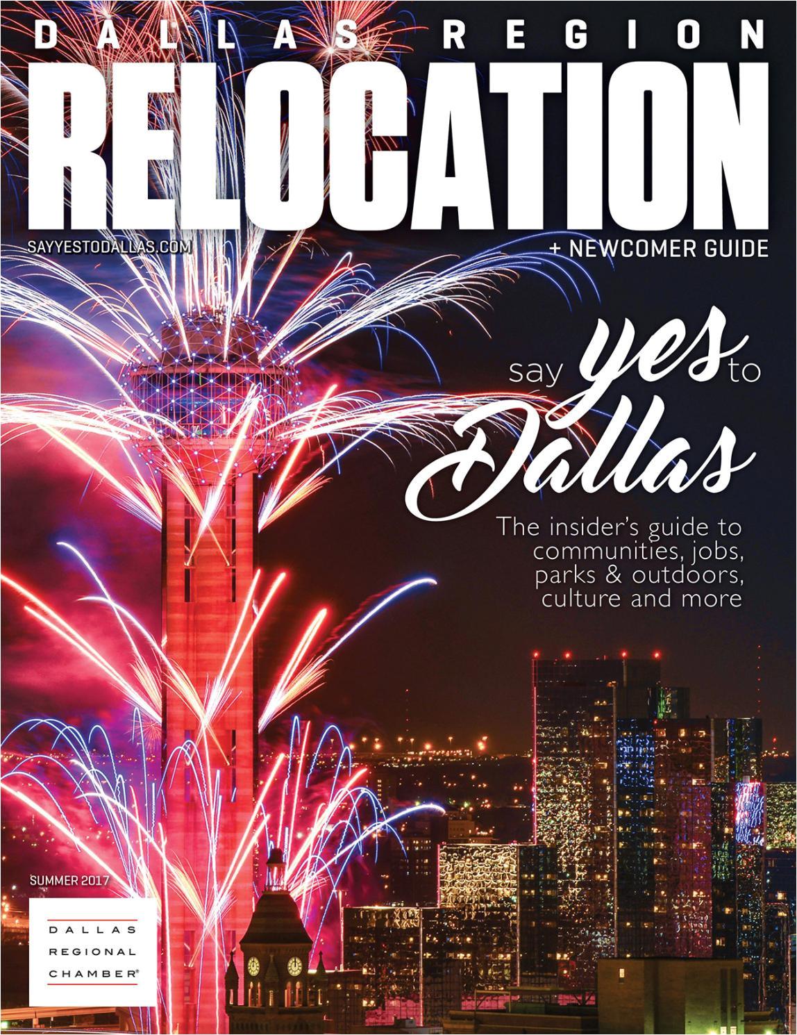 dallas region relocation newcomer guide by dallas regional chamber publications issuu