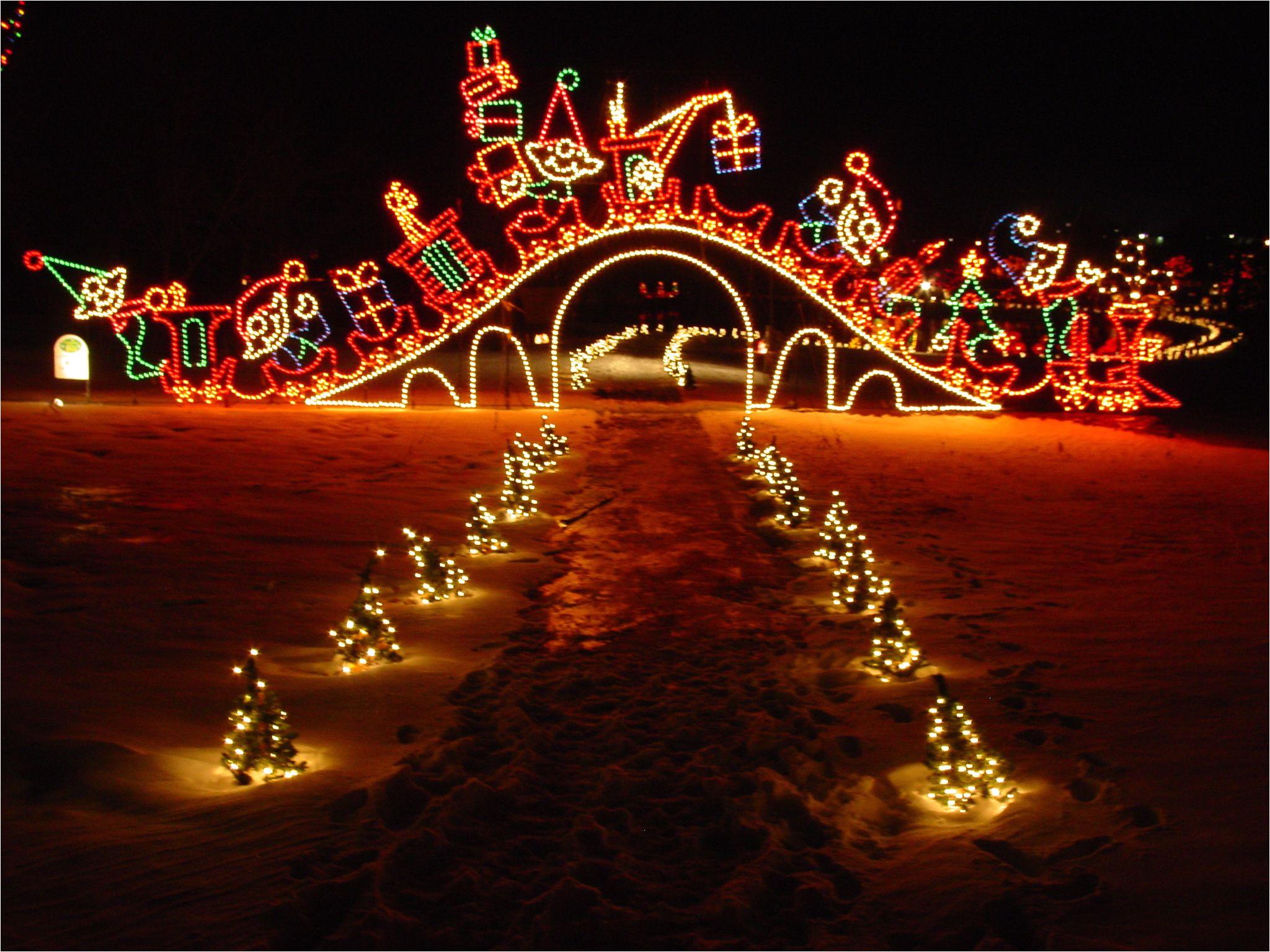 yukon oklahoma christmas in the park
