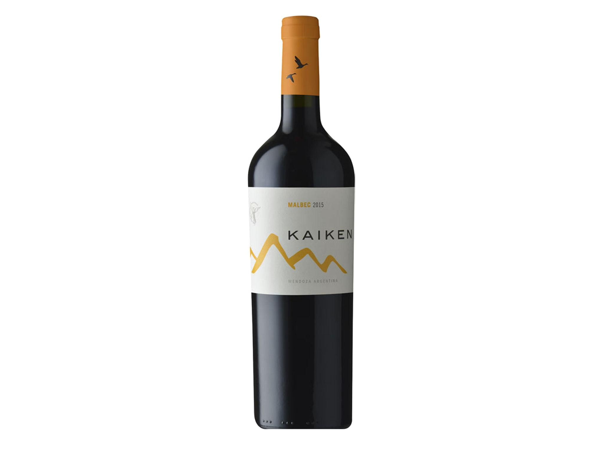 named after the wild goose that crosses the andes between chile and argentina this wine marks the cross country journey of chilean winemakers aurelio