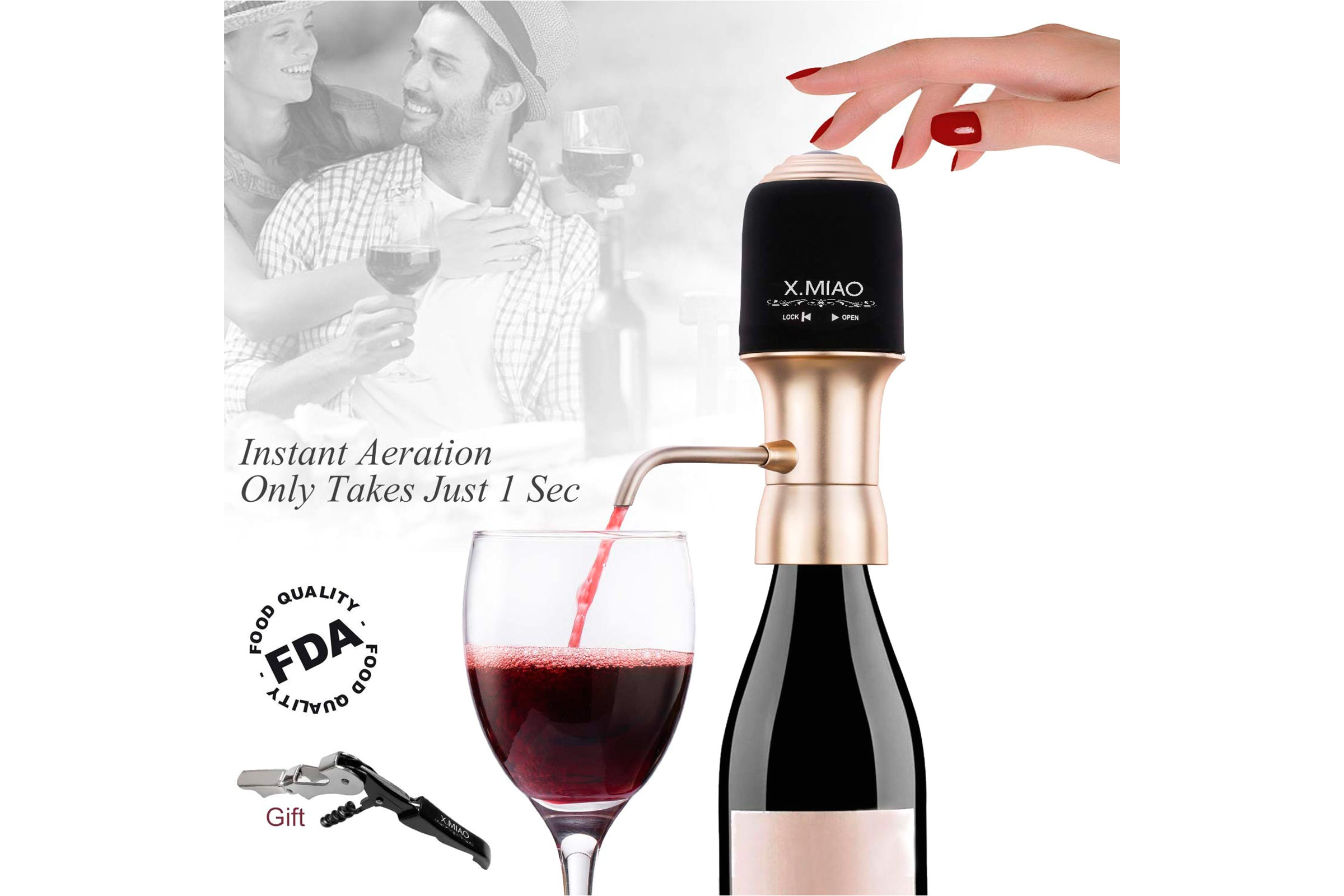wine dispenser via amazon com