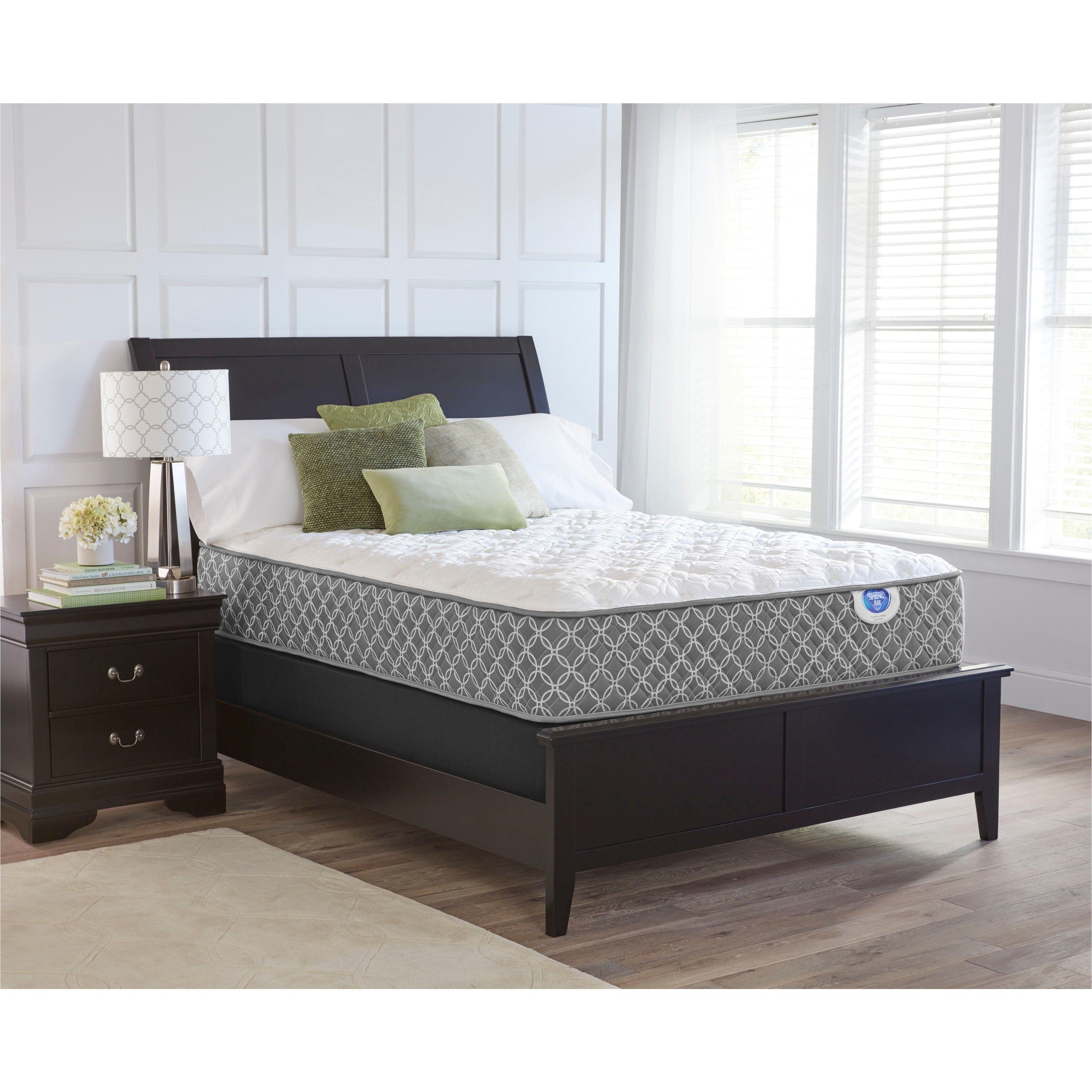 spring air bailey plush twin xl size mattress set mattresses white
