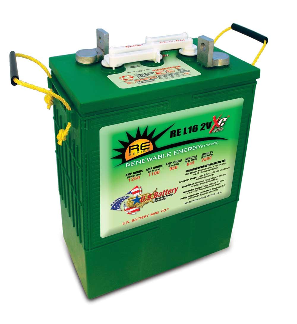 u s battery us re l 16 2vxc model