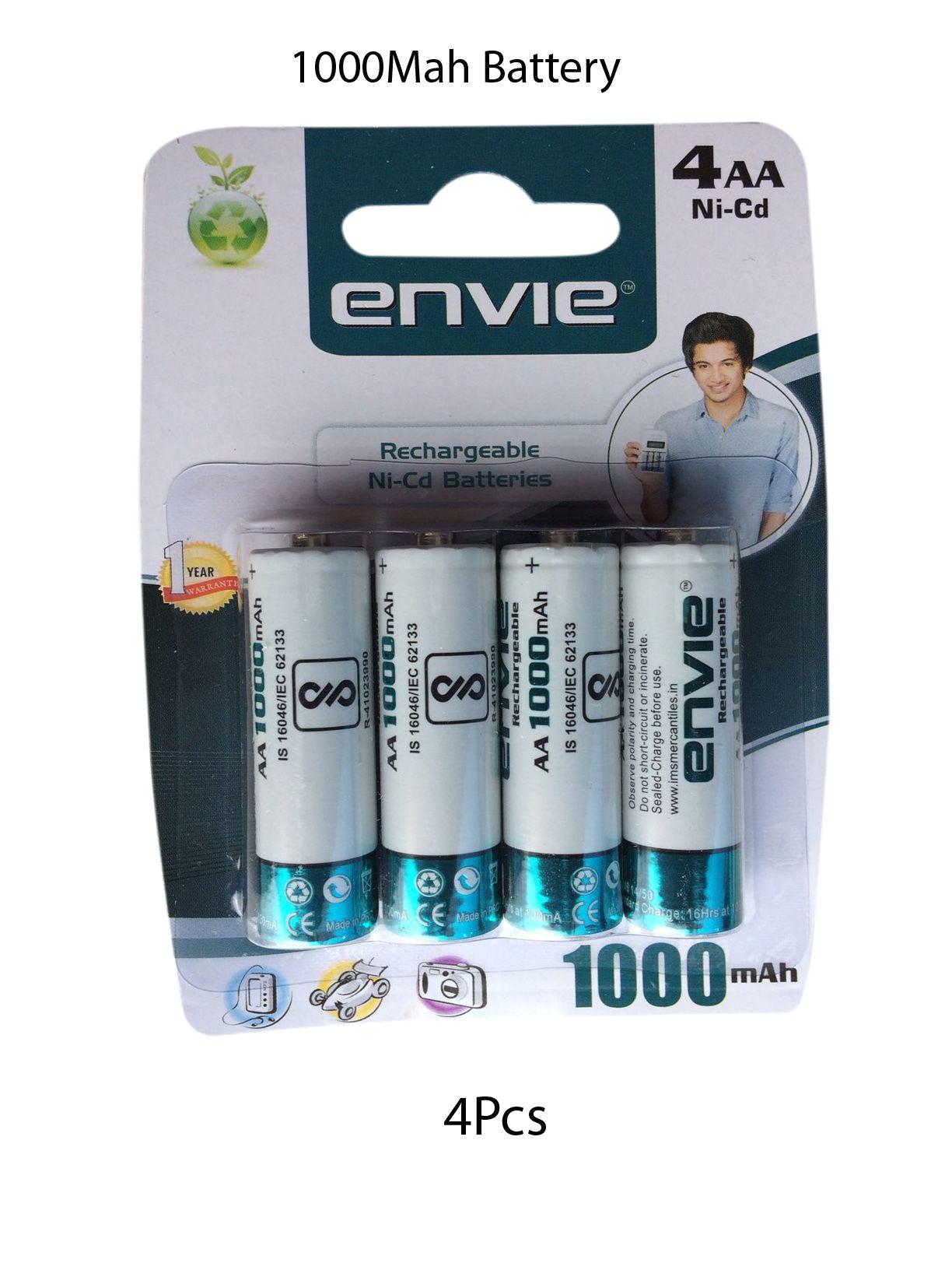 envie 1000 mah rechargeable battery 4