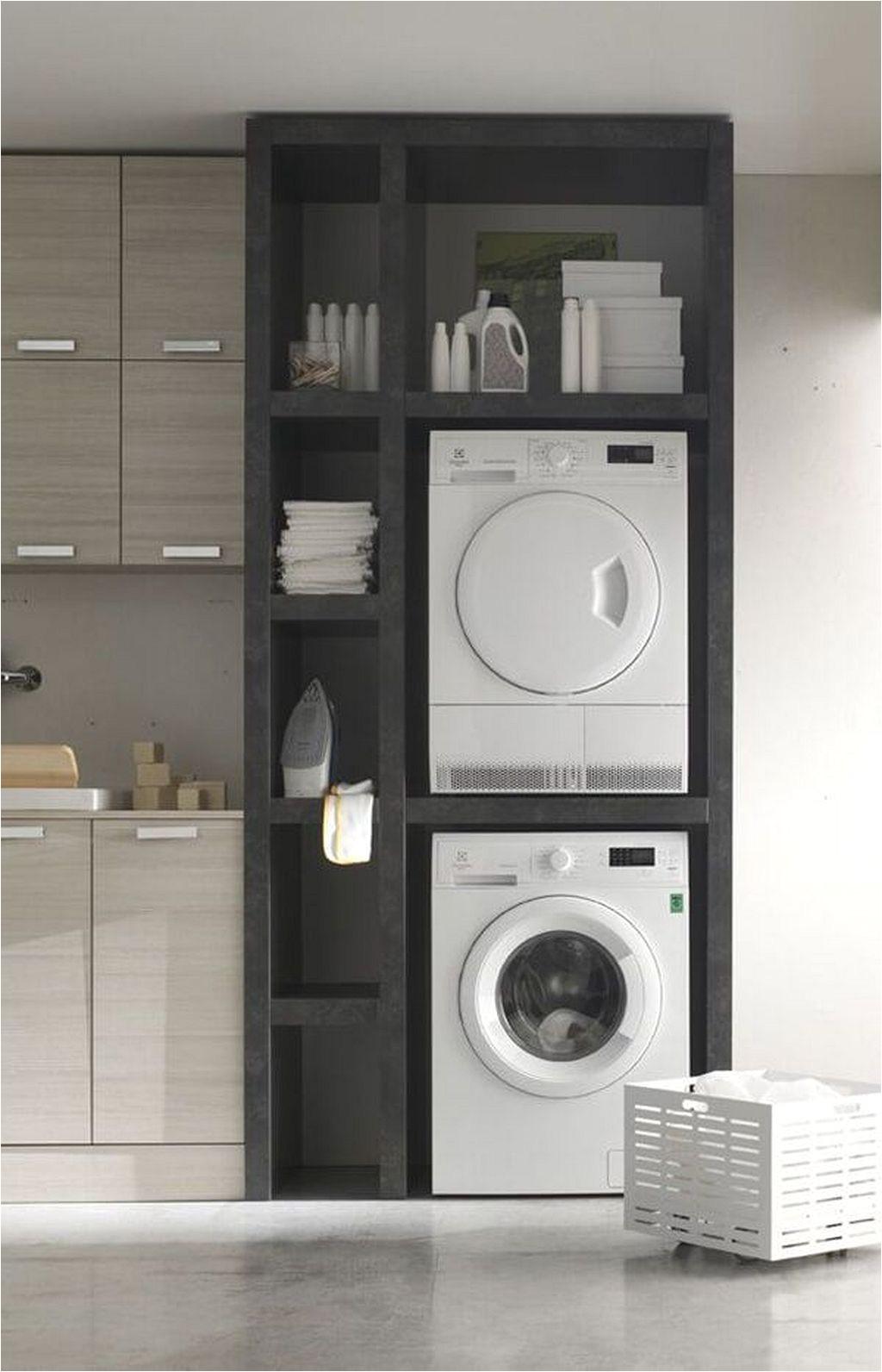 laundry storage shelves ideas 6