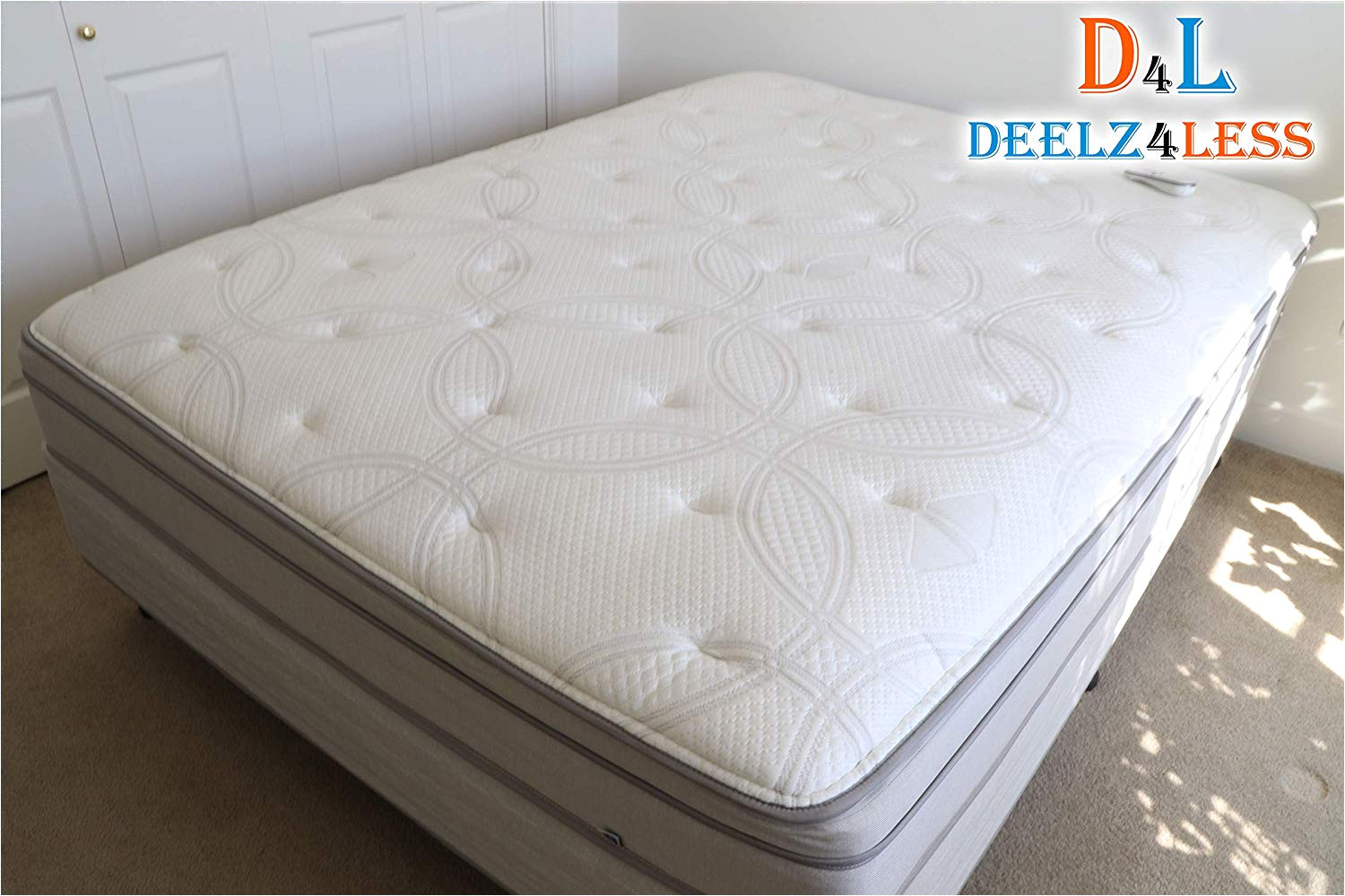 amazon com used select comfort sleep number queen size complete mattress p5 model comes 2 chambers dual hose pump wireless remote home kitchen