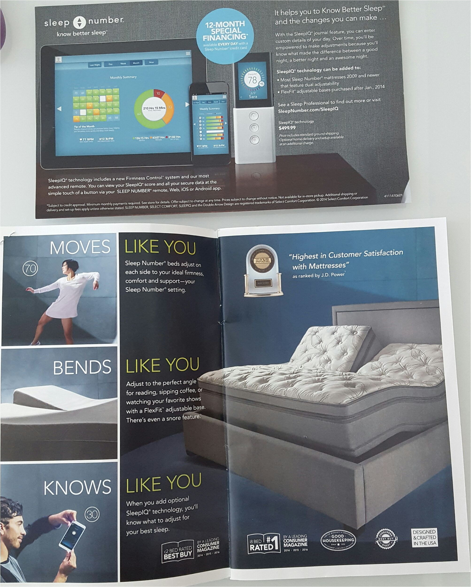 sleep number bed with sleep iq technology track how you sleep and make changes to improve committosleep freesample