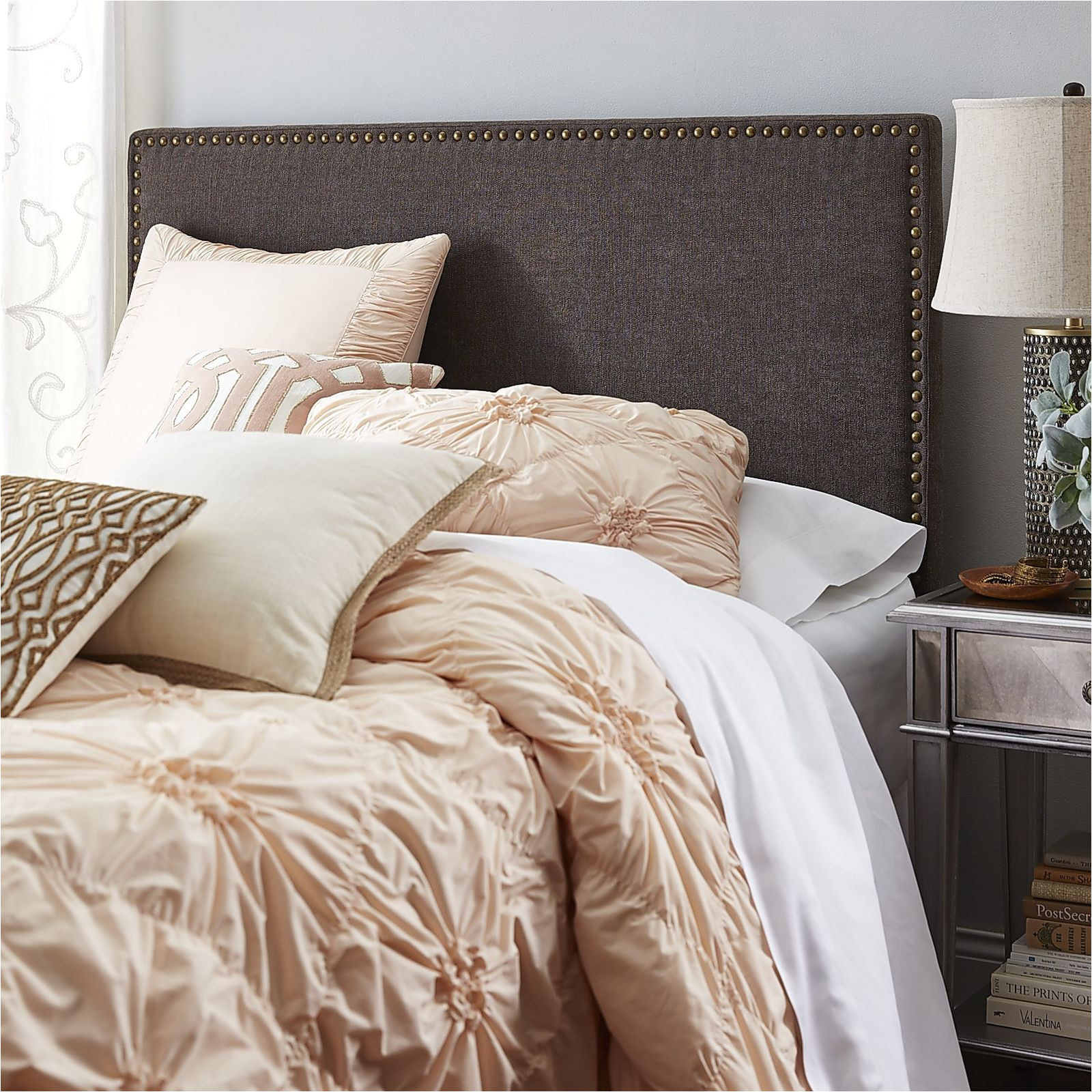 upholstered headboards are all the rage none more so than clarke on trend yet