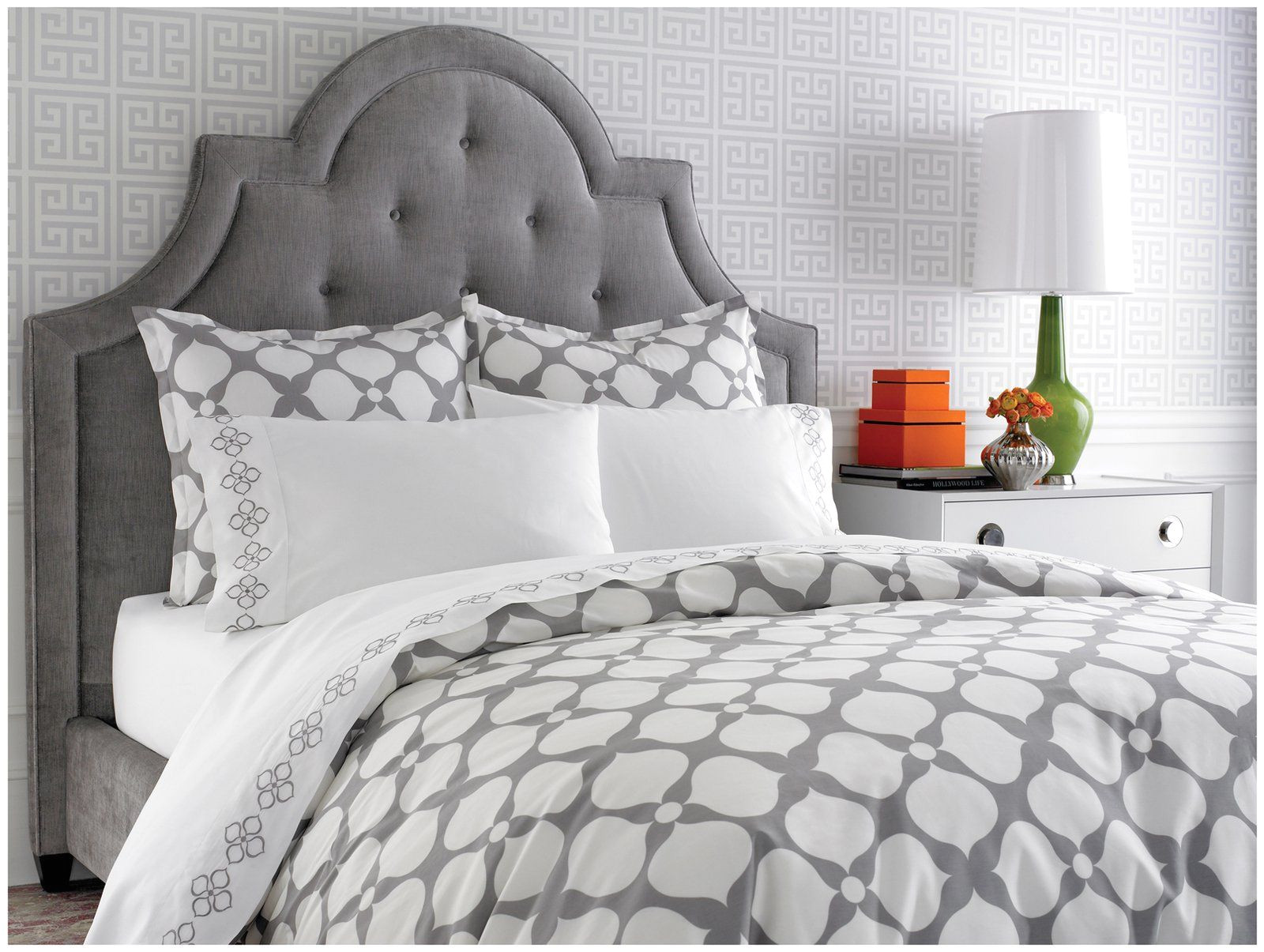 jonathan adler hollywood duvet cover but mostly i love that headboard