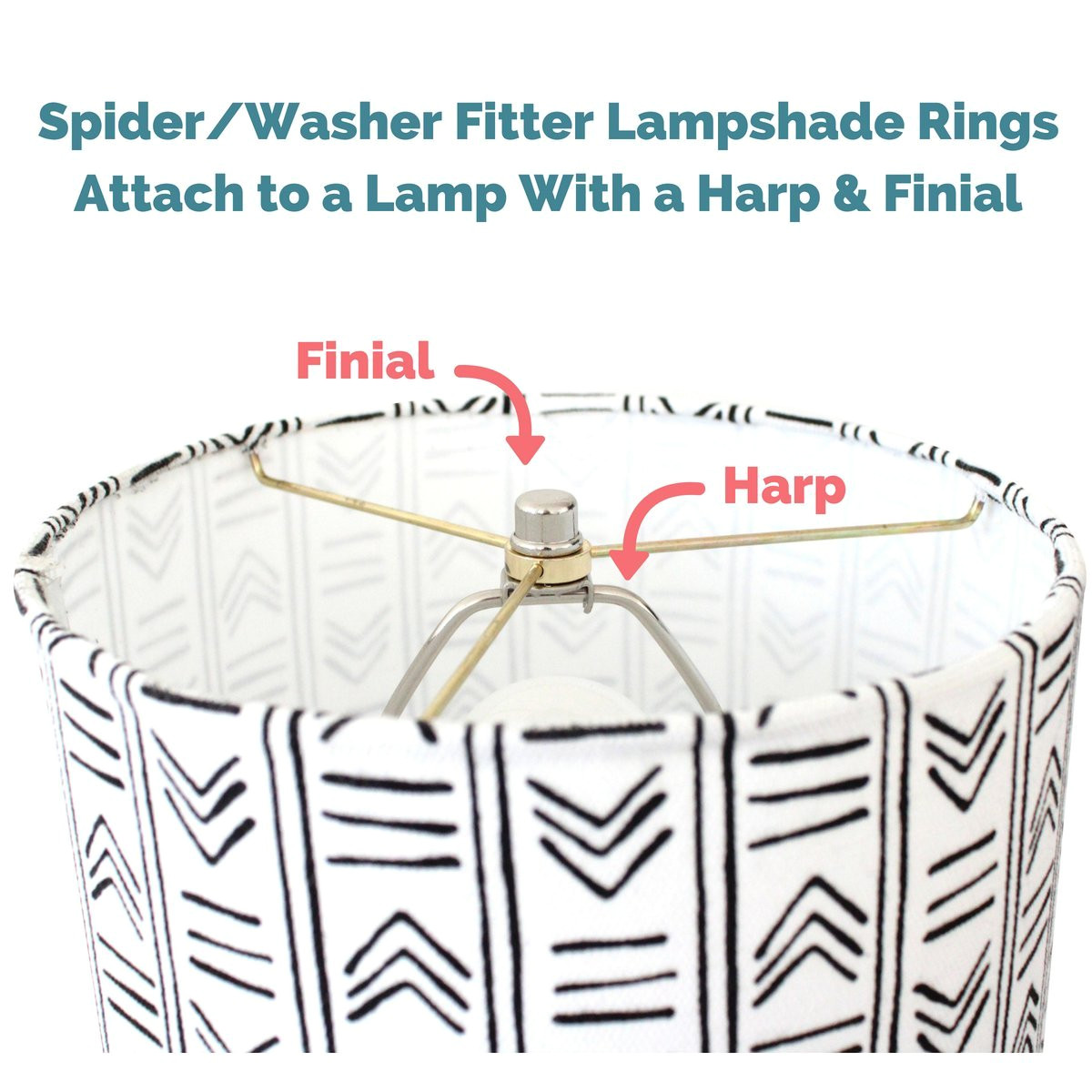lamp shade ring set to make a diy drum ring lamp shade us style spider fitter that connects to lamp harps strong galvanized steel ring for lamp shade