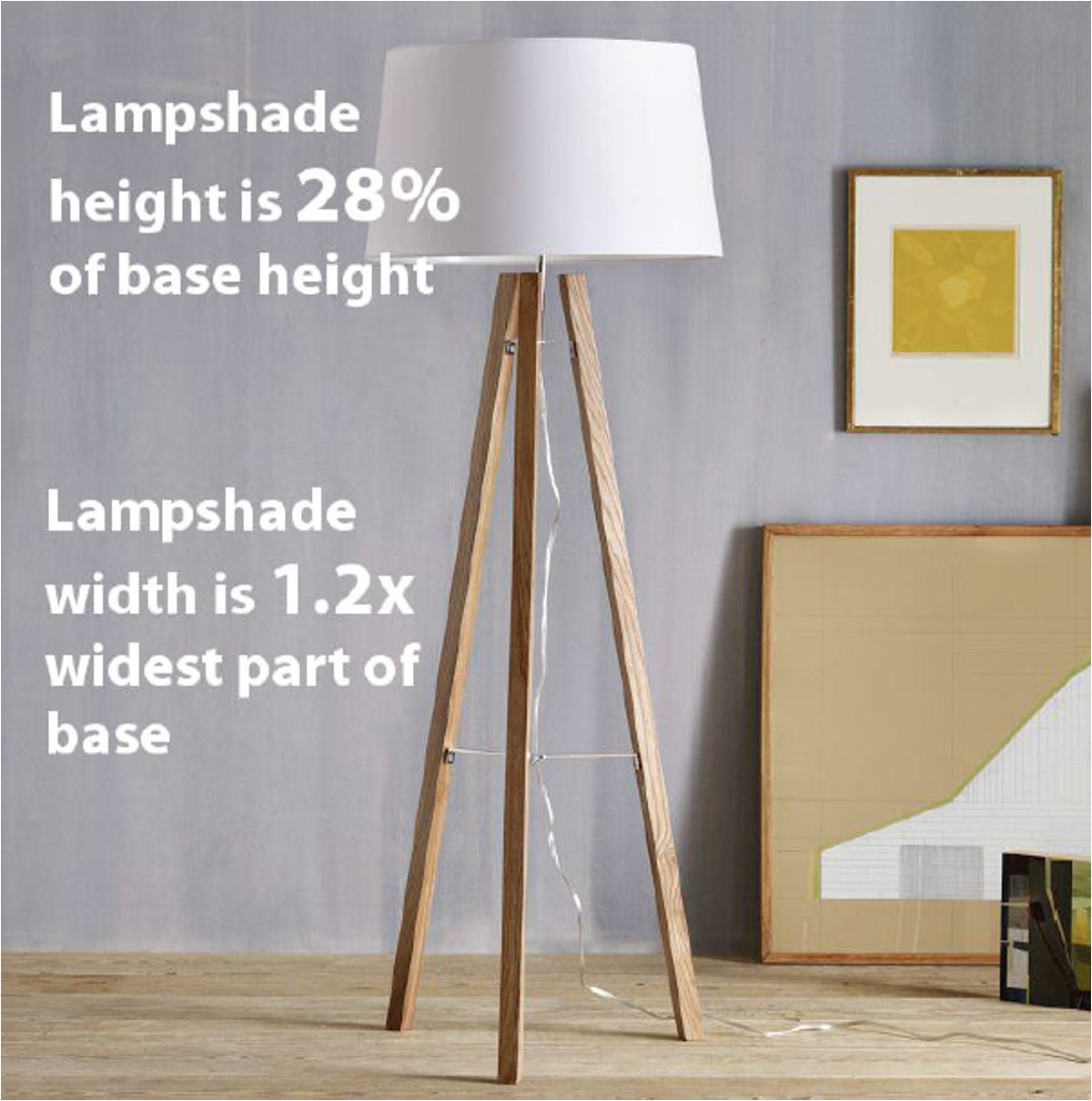 here are some examples of lampshades that don t follow the lampshade sizing guidelines and look great anyway