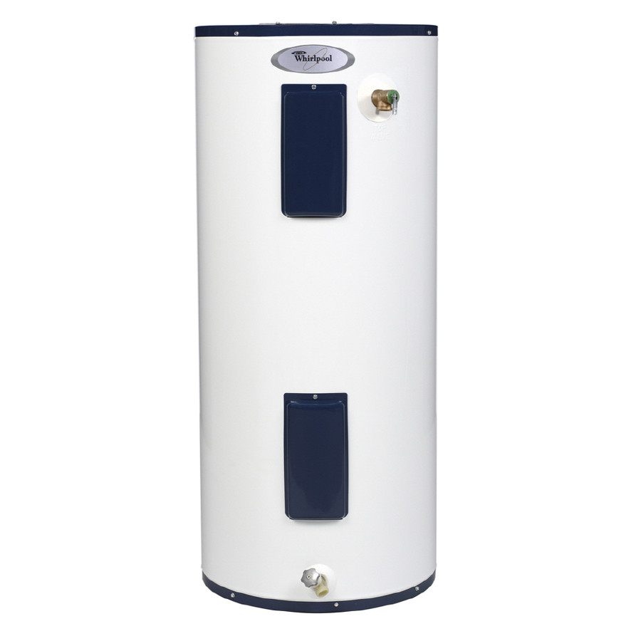 whirlpool 40 gallon 6 year regular electric water heater at lowes comwhirlpool 40 gallon 6 year