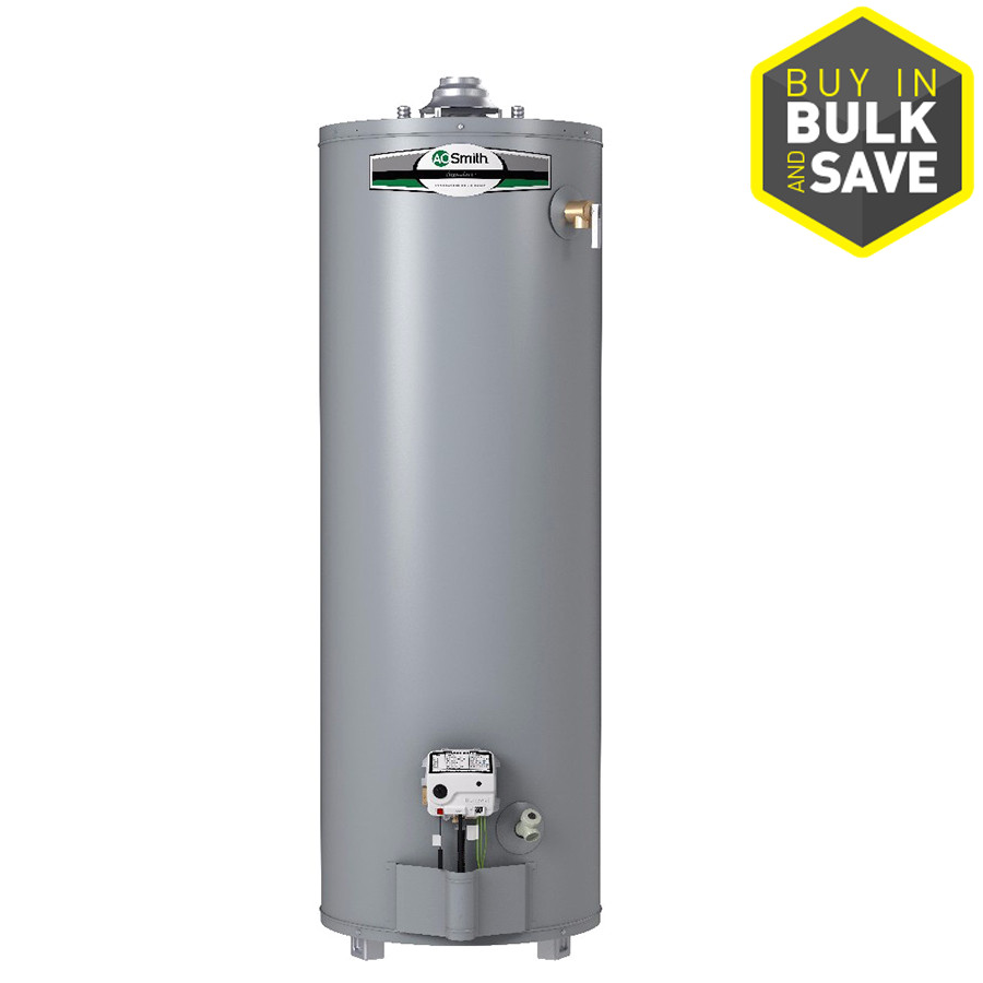 a o smith signature 40 gallon tall 6 year limited 34000 btu natural gas energy guide need this water heater