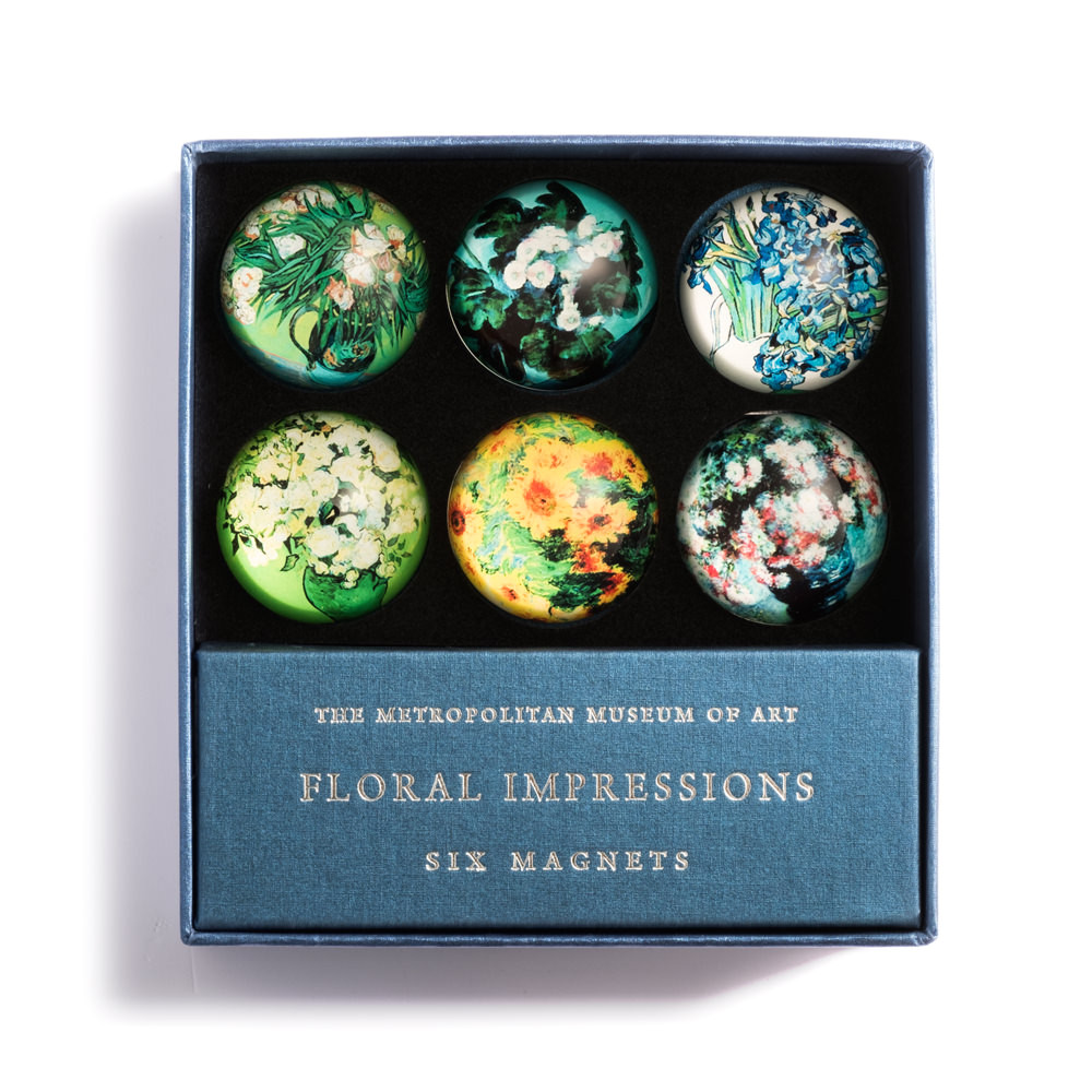 floral impressions domed magnets