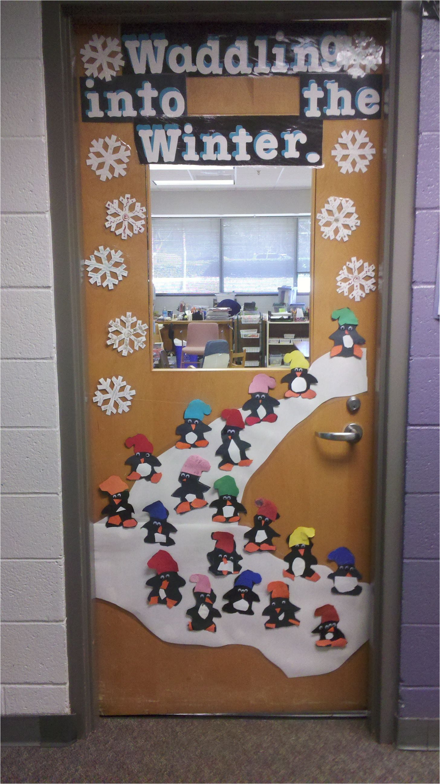 Winter Door Decorations for Elementary School This Would Be Appropriate since I M Pregnant and Will Def Be