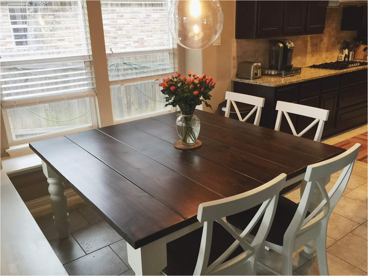 47 large farmhouse table for dining room big family
