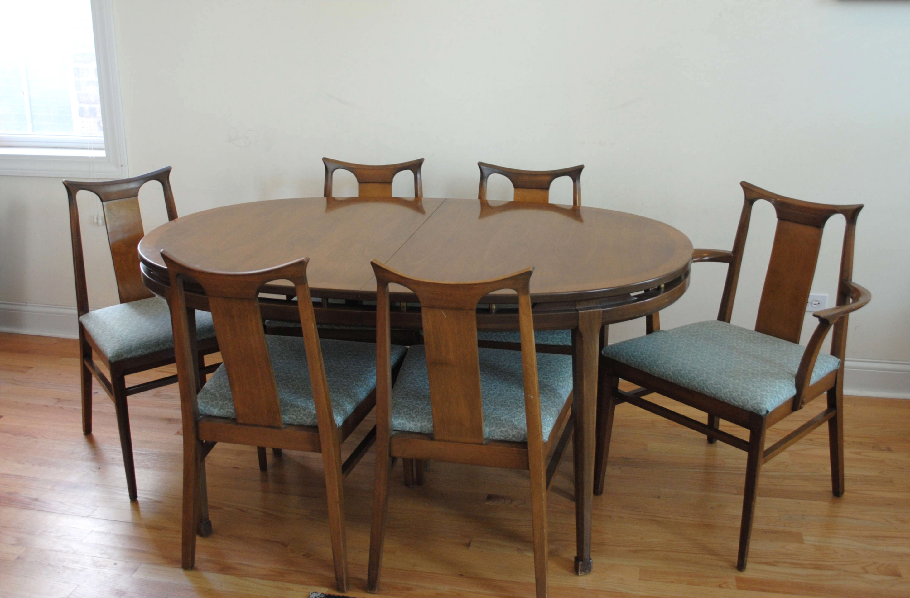 mid century wood chair lovely mid century dining table and chairs best mid century od 49