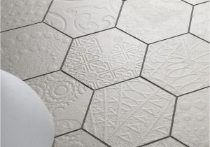 12×12 Antique Mirror Tiles Canada Hexagon Tiles Patterned Tiles New Relief Pattern Available at