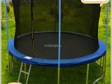 14 Ft Trampoline Mat and Springs Zupapa Round 14ft Trampoline Frame Safety Enclosure Spring