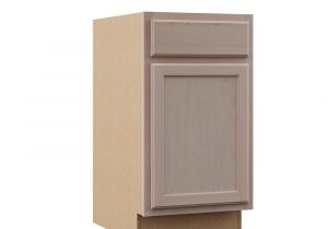 18 Inch Deep Base Cabinets Unfinished assembled 24×34 5×24 In Base Kitchen Cabinet In Unfinished Oak