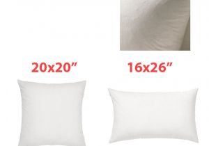 20×20 Pillow Insert Ikea Ikea Pillow Insert Duck Feathers Fjadrar 20×20 Quot or 16×26