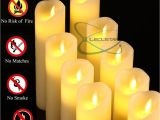 3 X 6 Ivory Pillar Candles Bulk 2019 Flameless Candles Flickering Battery Operated Candles 4 5 6 7 8