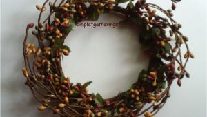 4 Inch Pip Berry Candle Rings One 4 Quot Pip Berry Candle Ring or Wreath Barn Red Green