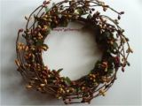 4 Pip Berry Candle Rings One 4 Quot Pip Berry Candle Ring or Wreath Barn Red Green
