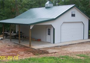 40×60 Pole Barn with Living Quarters Metal Buildings with ...