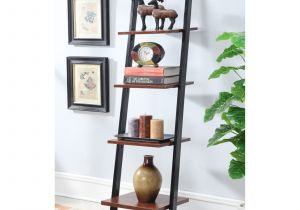 5 Shelf Metal Storage Rack Walmart Convenience Concepts Designs2go 4 Tier Ladder Bookshelf Walmart Com