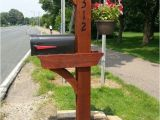 6 X 6 Mailbox Post Plans 17 Best Images About Mailbox Ideas On Pinterest Mailbox