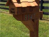 6 X 6 Mailbox Post Plans Decorative Cedar Wood Mailbox Post 6×6 Wilray Designs