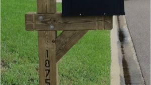 6×6 Mailbox Post Plans 6×6 Handmade Single Treated Mailbox Post