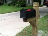 6×6 Mailbox Post Plans Mailbox Post Posts and 4×4 On Pinterest