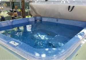 7×7 Hot Tub Cover Used 7×7 240v 2 Pump Needs New Cover Blue Hot Tub In