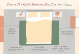8 X 10 Rug Queen Bed Choose the Right Size area Rug for Under Your King Bed