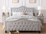 8 X 10 Rug Queen Bed Virgil Upholstered Tufted Fabric Queen Bed Set by Christopher Knight Home