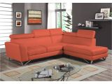 80 Inch Sectional sofa Shop 2pc Sectional orange Microfiber Free Shipping today