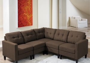 90 Inch Sectional sofa with Chaise Shop Emmie Mid Century Modern 5 Piece Sectional sofa Set by