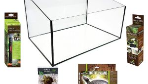 Above Ground Turtle Pond Kit Reptiles Planet Aquatic Turtle Terrarium Kit 60 X 40 X 28 Cm Amazon
