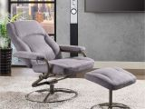 Accent Chairs Under 100 Walmart Mainstays Plush Pillowed Recliner Swivel Chair and Ottoman Set
