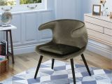 Accent Chairs Under 100 Walmart Noble House Mid Century Modern Velvet Accent Chair Grey Walmart Com