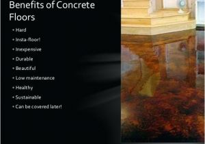 Acid Stained Concrete Floors Pros and Cons Polished Concrete Floors