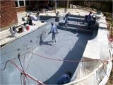 Acid Wash Pool Pebble Tec New Pool Build In Houston Tx