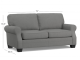Adeline Storage Sleeper sofa Review 12 Small Couches that are Perfect for Your Teeny Weeny