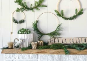 Advent Wreath Kits Hobby Lobby Simple Diy Holiday Wreath with Fresh Greens and An Announcement