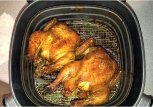 Air Fryer Cornish Hen Best Cornish Hens Ever Roasted In Philips Airfryer Here