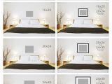 Alaska King Size Bed Measurements Art Size for Above the Bed Tutorials Bedroom Bed Above Bed