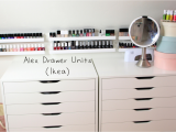 Alex 9 Drawer Dupe Bedroom Ikea Alex 9 Drawer Dupe Ikea Makeup organizer Scarf