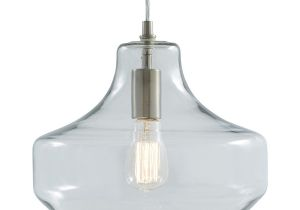 Allen and Roth Lighting Replacement Glass Shop Allen Roth 12 01 In Brushed Nickel Art Deco Single