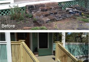 Alternatives to Lattice for Deck Skirting New Stair Banister to Match Porch Railing On Historic Home Click